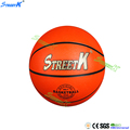streetk brand wholesale cheap rubber basketball, basketball ball factory