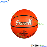 streetk brand wholesale cheap rubber basketball