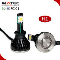 24W high lumen LED headlight for snowmobile 4x4 single light h1,h7,h11,9005,9006,5202. CE,FCC,ROHS, IP68 certifications