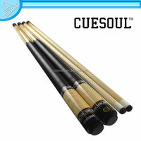 CUESOUL Canadian Maple Shaft Billiards Pool Cue