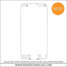 OEM New LCD Front Frame for iPhone 6s with Glue with Competitive Price(White)