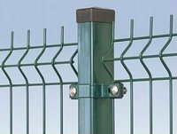 Manufacture supply high quality PVC coated rectangular tube fencing