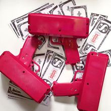 Newest item paper money spray gun for party celebration cash cannon