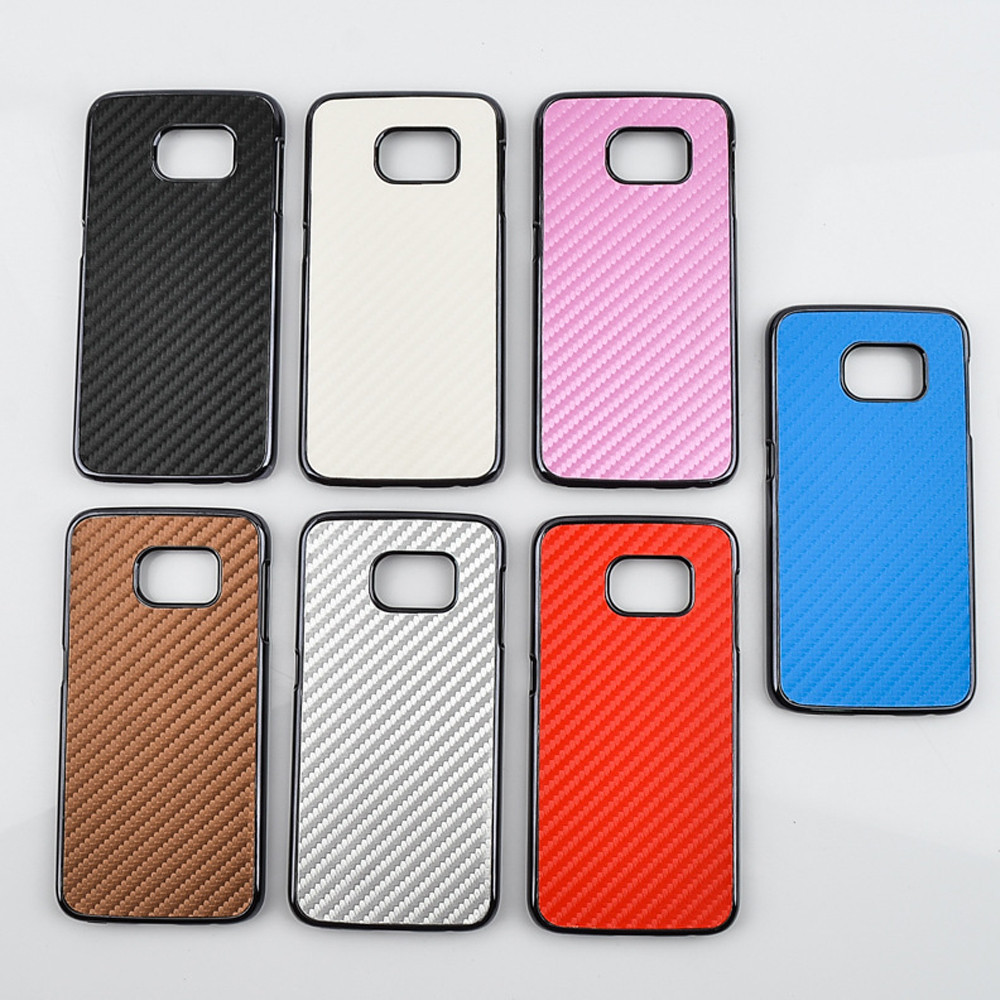 Mobile Phone Protective Shell pu Case Cover for samsung S6