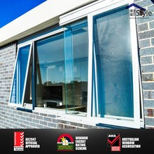 Aluminium chain winder awning window design /Top hung window