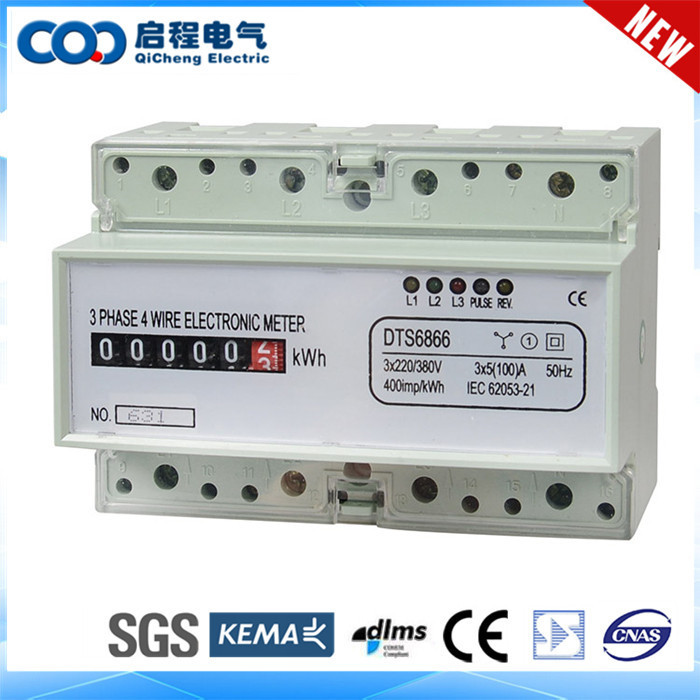 Tariff Management Load Control Digital Electric Meter Reverse
