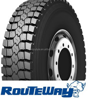 Chinese 9.00r20 tires of routeway brand TBR truck tyre