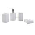 Plastic Bathroom Toilet Gift Matte color available Accessories Set towels bath set luxury hotel home use