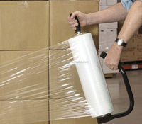 Quality First pvc stretch cling film roll for food wrapping