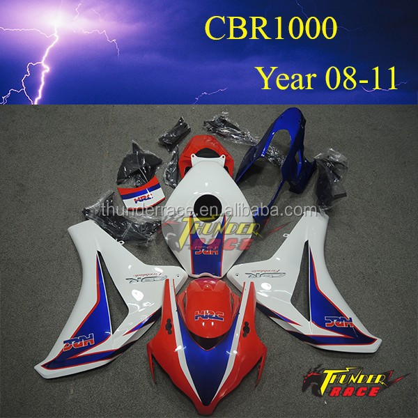 Hot sell Racing Motorcycle Body Kits for Honda CBR1000 2008 2009 2010 2011