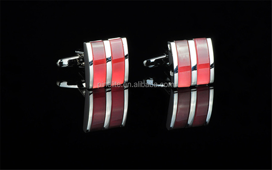 Metal suit shirt cufflinks, custom cufflinks shape for sale