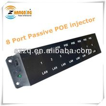 8Port 48V Passive POE Injector for 8 camera or IP devices