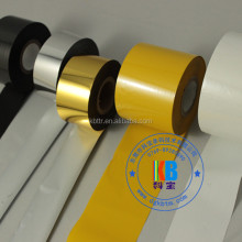 date code ribbon 35mm*200m film for hot stamping foil machine