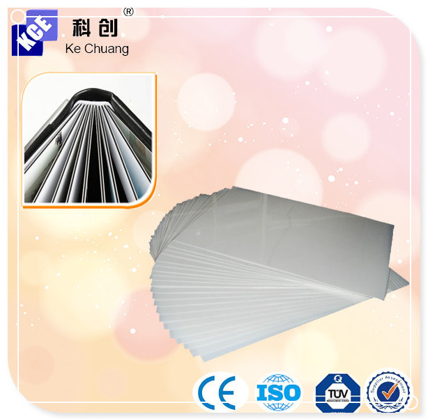 Factory direct Self-adhesive PVC(white or black),photo album pvc sheet low price