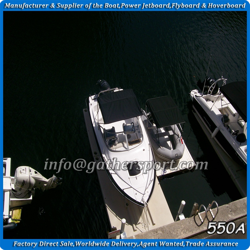 Gather hot sale USA OEM 5.5m cabin boat,fiberglass cabin boat,fiberglass cuddy cabin boat for sale