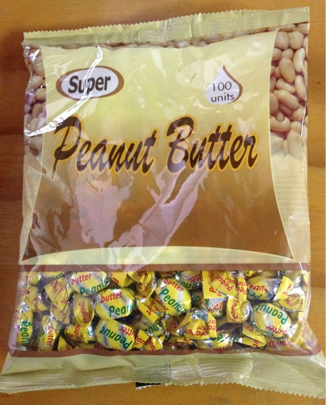 Peanutbutter hard Candy