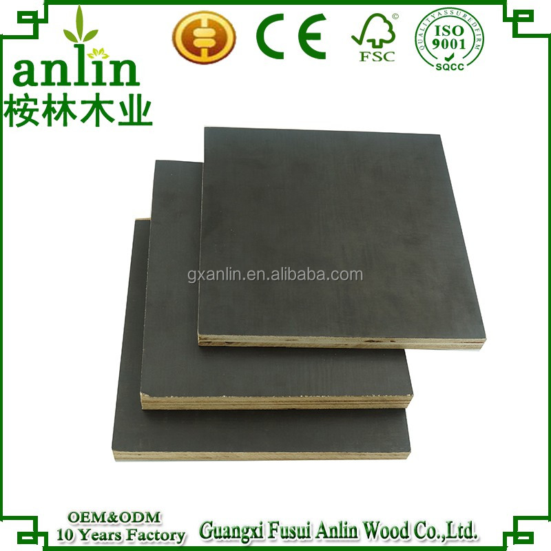 Construction Concrete 18mm Brown Film Faced Form plywood