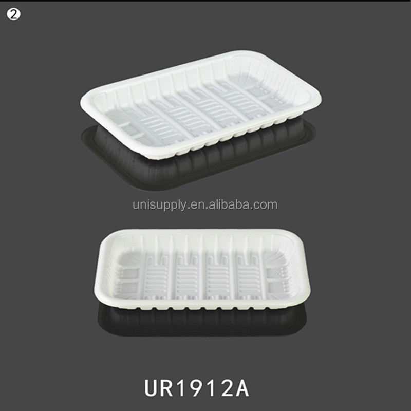 Disposable PP Plastic Meat Fruit Vegetable Storage Packing Tray Manufacturer in Shanghai