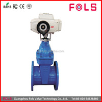 competitive price flange end motor operated gate valve