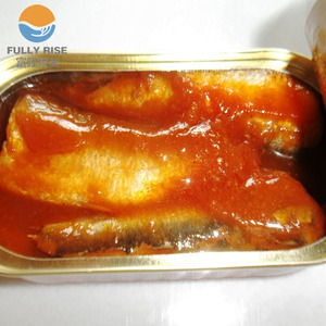 hot sale canned sardine fish in tomato sauce canned seafood