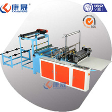 Computer high speed Heat-sealing& Cold-cutting plastic bag making machine