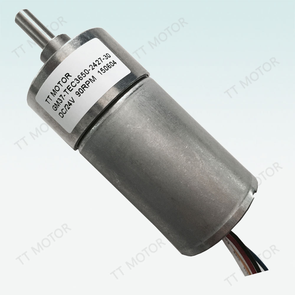 GM37-TEC3650 12v dc brushless motor