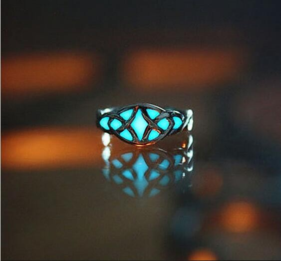 Carved Glow in the Dark Ring 7 Designs
