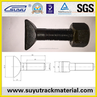conical square head bolt