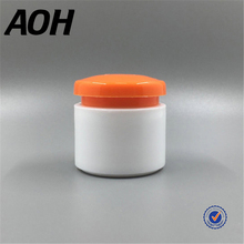 Latest Design Promotional Jar Round Plastic Container Cosmetic Containers For Cream
