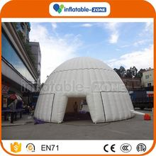 Factory cheap best quality portable inflatable photo booth cube tent pvc inflatable tent in high quality