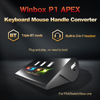 Winbox P1 Apex Keyboard Mouse Converter Handheld Wireless Adapter For Ps4 Xbox Nintendo Switch Game Console Built-In Headset