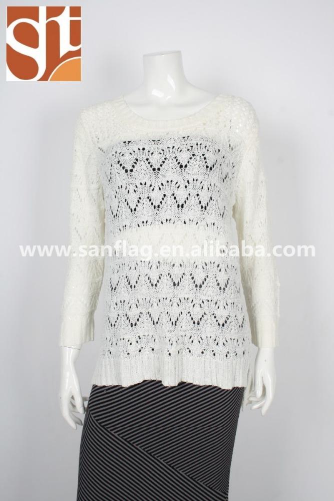 One Piece Knit Sweater Pattern : Women Acrylic Sweater Knitweater One Piece Knit Sweater ...