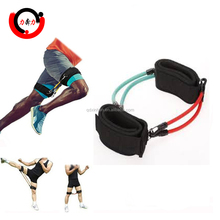 Leg resistance speed exercise bands for Taekwondo athletic performance and fitness training