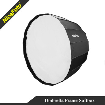 NiceFoto Umbrella frame Deep softbox 70cm, 90cm, 120cm, Parabolic softbox