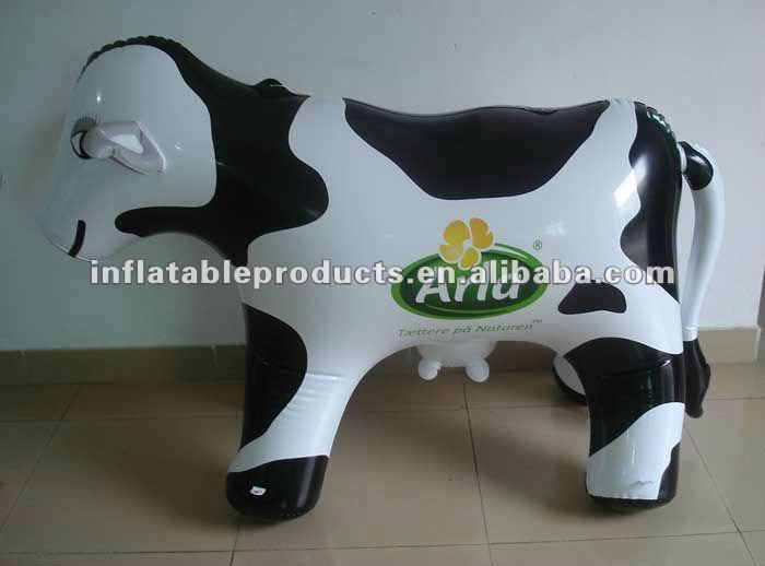 PVC inflatable milk cow