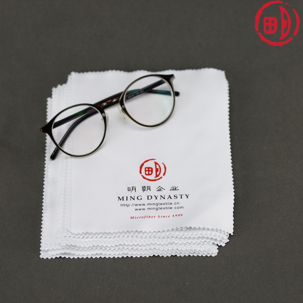 Hot Selling Promotional Microfiber Eyeglass Wipes Cleaing Cloth