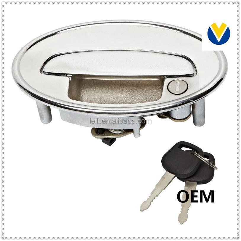 Automobile front auto glass car lock