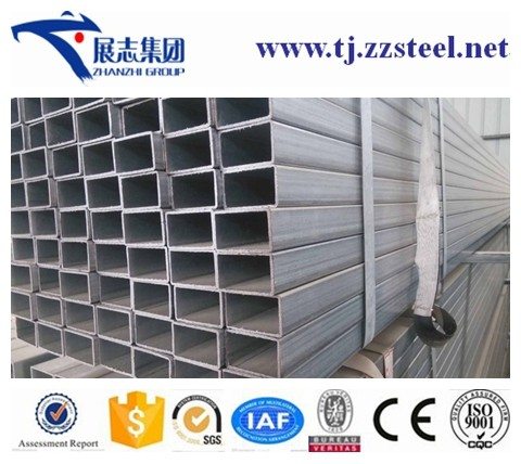 High quality square tube galvanized vs hot dip galvanized hot dipped galvanized welded rectangular