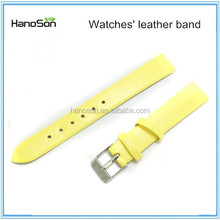 China supplier Texture Western Genuine Leather Watch Bands 22mm Leather Cuff Watch Band for sale