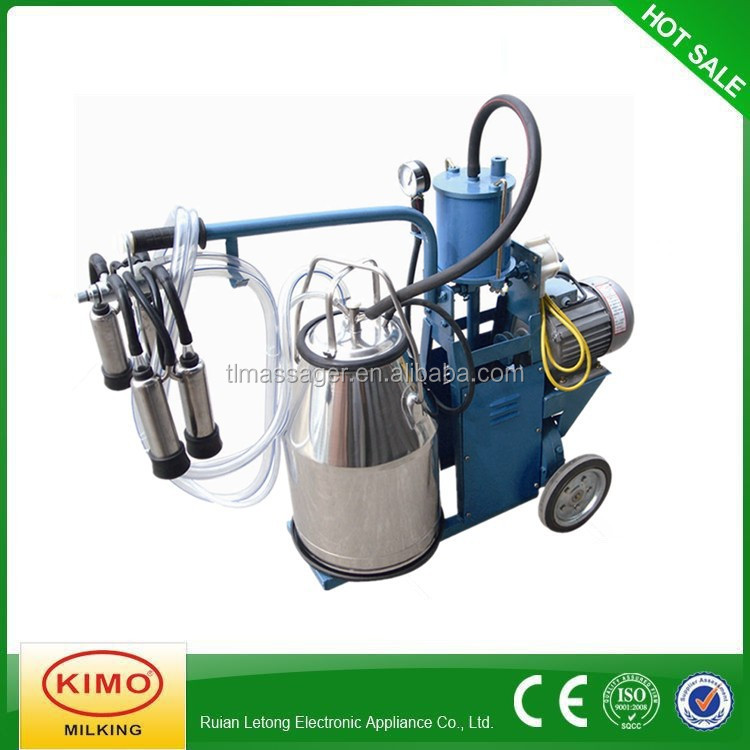 KIMO Dairy Piston-typed Movable Used Milking Machine For Cows For Sale