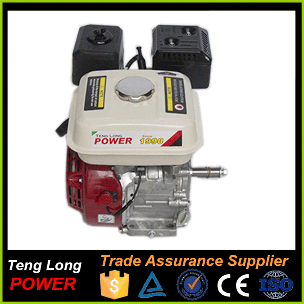 100% spare parts supply Gasoline electric motor gx200 6.5hp sale