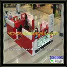 New design exhibition booth nail polish displays and nail cosmetic products selling