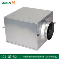 Metal casing centrifugal building Duct Fans, Silent Type Tunnel Ventilation Fan Fresh Air supply units (DPT10J-24A)