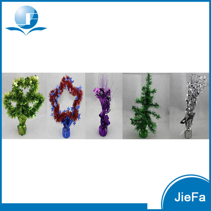 OEM Various Themes Party Decorations, Metallic Wrapped Balloon Weight and Centerpiece, Foil Balloon Weight
