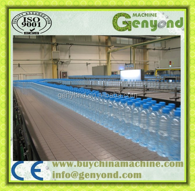 Small scale mineral water production plant / mineral water production line