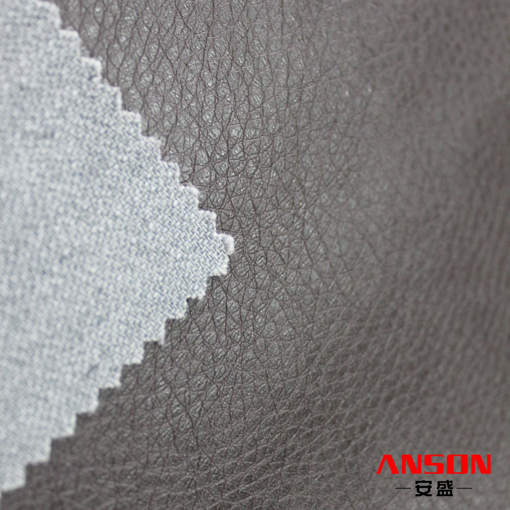 Customized color PU synthetic leather material price per meter