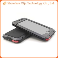 Waterproof shockproof aluminum phone case cover for iPhone 5s