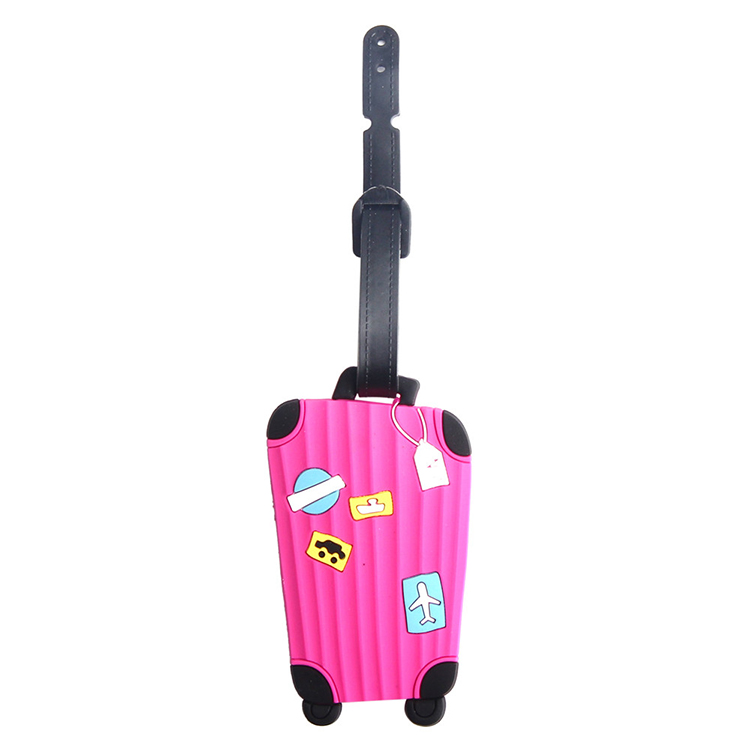 Custom cruise fashion customized rubber luggage tag