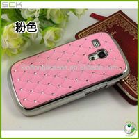 Chrome Design Luxury Bling Diamond Case Cover For Samsung Galaxy S3 Mini i8190