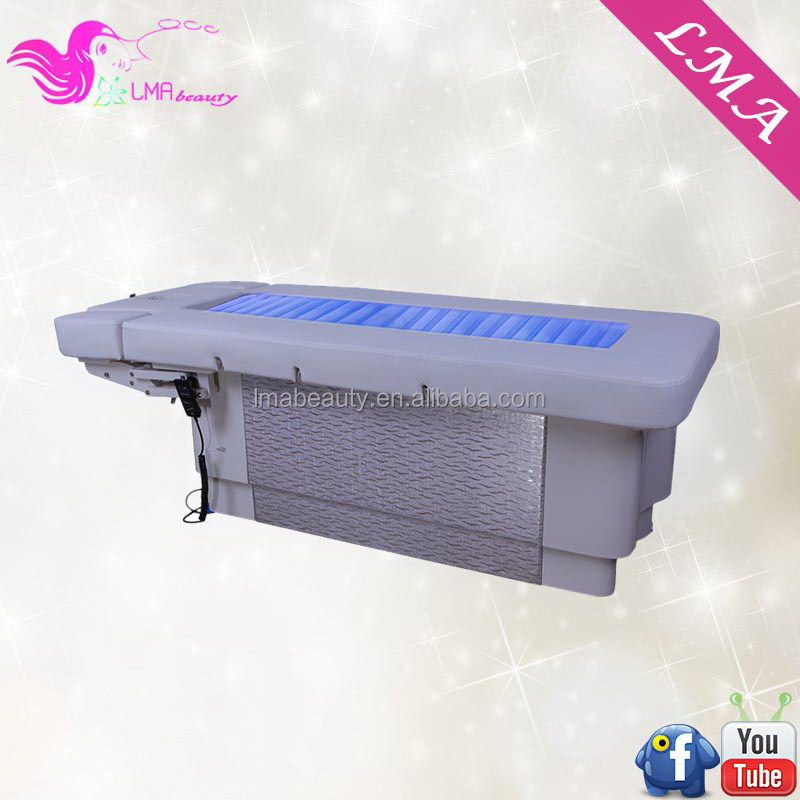 Economic hot-sale electric adjustable heating water spa massage table